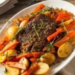 Homemade Slow Cooker Pot Roast