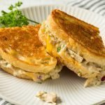 Homemade Toasted Tuna Melt Sandwich